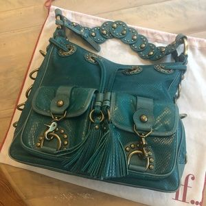 Isabella Fiore Snake Charmer bag- mint condition